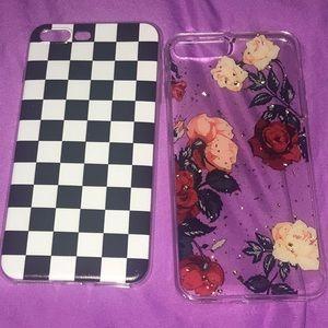 Accessories - 2 iphone 8/x phone cases